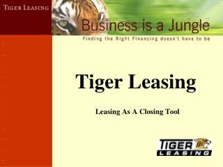 Tiger Leasing
