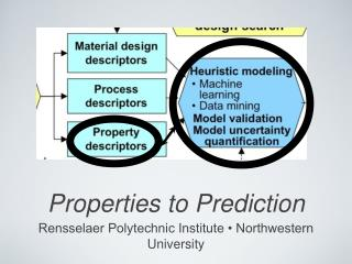 Properties to Prediction