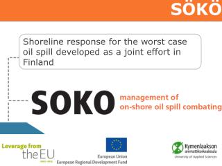 Shoreline response for the worst case oil spill developed as a joint effort in Finland