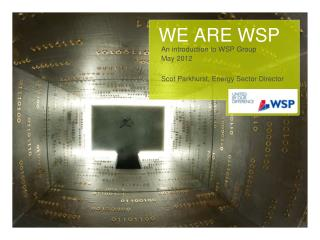 WE ARE WSP