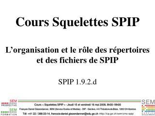 Tél: +41 22 / 388-33-14, francois-daniel.giezendanner@edu.ge.ch - icp.ge.ch/sem/cms-spip/