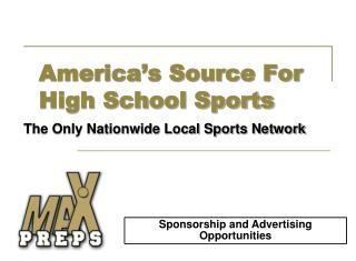 America's Source For High School Sports