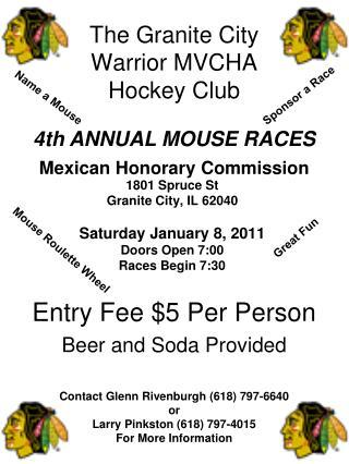The Granite City Warrior MVCHA Hockey Club