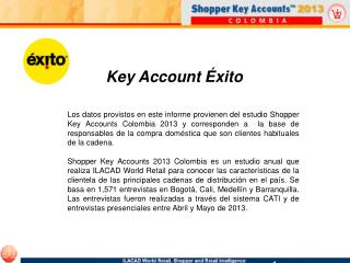 Key Account Éxito