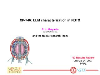 XP-746: ELM characterization in NSTX
