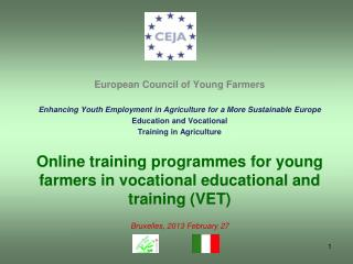 European  Council of Young Farmers