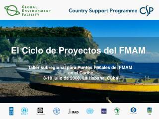 El Ciclo de Proyectos del FMAM