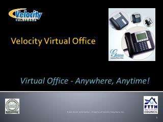 Velocity Virtual Office
