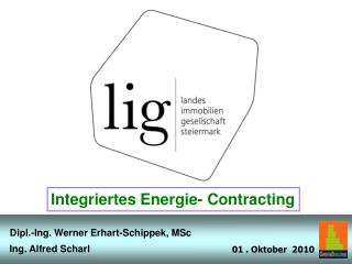 Integriertes Energie- Contracting