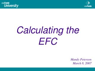 Calculating the EFC