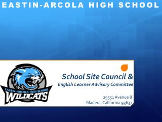 School Site Council & English Learner Advisory Committee