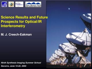 Science Results and Future Prospects for Optical