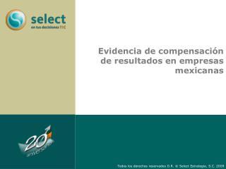 Evidencia de compensación de resultados en empresas mexicanas