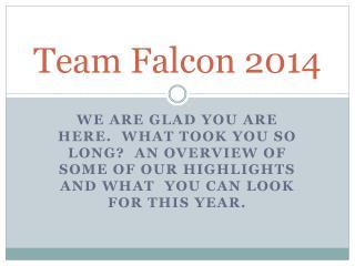 Team Falcon 2014