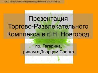 пр. Гагарина, рядом с Дворцом Спорта