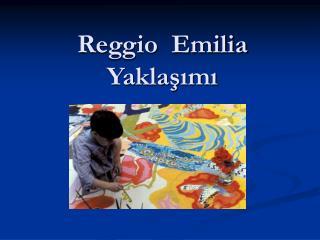 Reggio  Emilia Yaklasimi