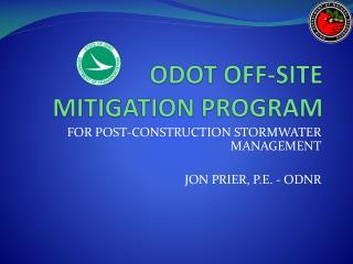 ODOT OFF-SITE MITIGATION PROGRAM