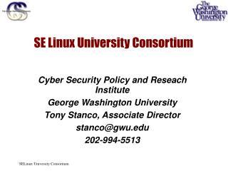 SE Linux University Consortium