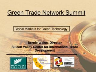 Green Trade Network Summit