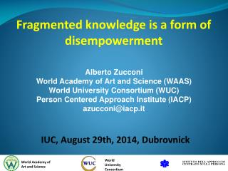 Fragmented knowledge is a form of disempowerment