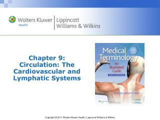 Chapter 9: Circulation: The Cardiovascular and Lymphatic Systems