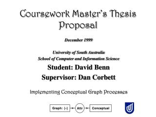Coursework Master's Thesis Proposal