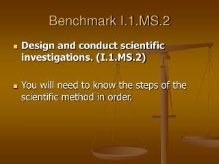 Benchmark I.1.MS.2