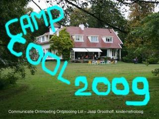 Communicatie Ontmoeting Ontplooiing Lol – Jaap Groothoff, kindernefroloog
