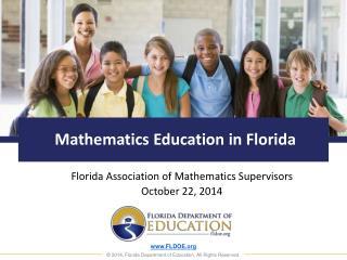Mathematics Education in Florida