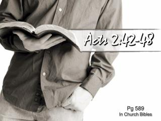 Acts 2:42-48