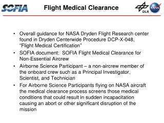 Flight Medical Clearance