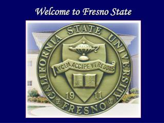 Welcome to Fresno State