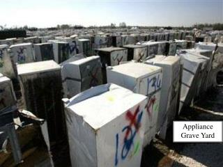Appliance Grave Yard