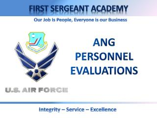 ANG PERSONNEL EVALUATIONS