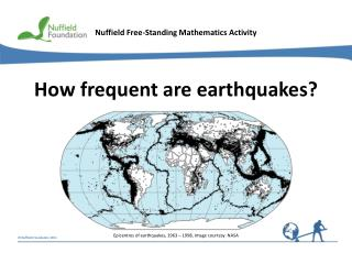 How frequent are earthquakes?