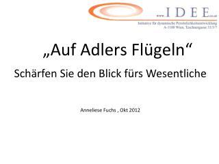 """""""Auf Adlers Flügeln"""""""