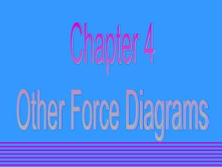 Chapter 4 Other Force Diagrams