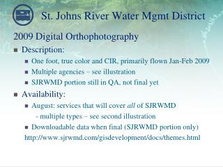 St. Johns River Water Mgmt District