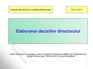 Inspectoratul Şcolar al Judeţului Maramureş