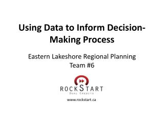 Using Data to Inform Decision-Making Process
