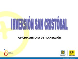 INVERSIÓN SAN CRISTÓBAL