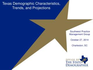 Southwest Practice Management Group October 27, 2014 Charleston, SC