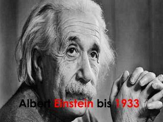 Albert  Einstein  bis  1933