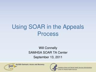 Using SOAR in the Appeals Process