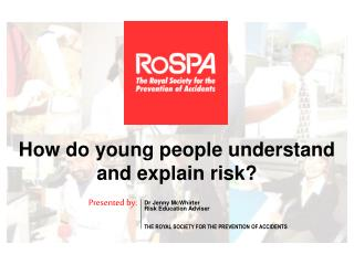 How do young people understand and explain risk