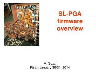 SL-PGA firmware overview