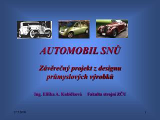 AUTOMOBIL SNŮ