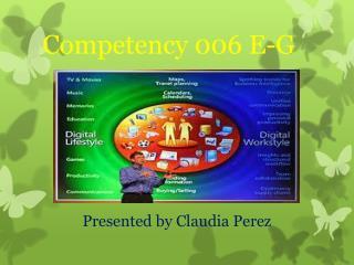 Competency 006 E-G