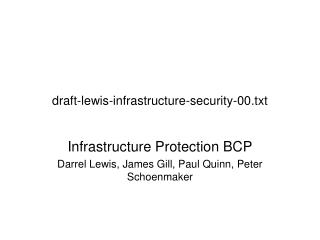 draft-lewis-infrastructure-security-00.txt
