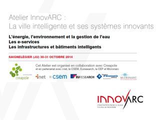 Des services pour les PME et start-ups  de  l'Arc jurassien franco-suisse